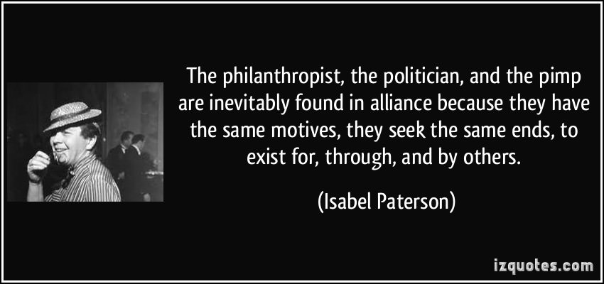 Isabel Paterson and the God of the Machine